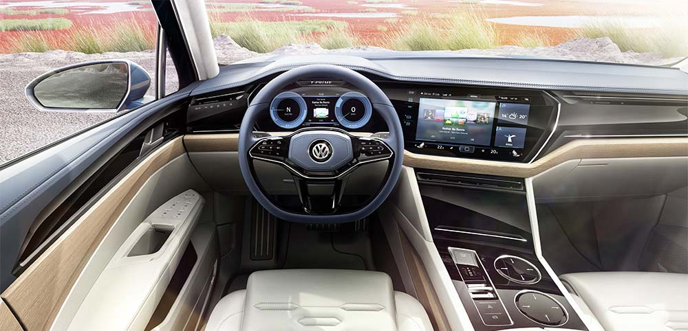 Volkswagen T-Prime Concept GTE- interior