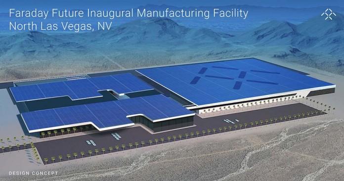 Inauguración de la fábrica de Faraday Future en Nevada