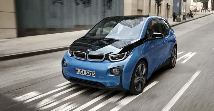 BMW i3 2017 - 33 kWh - frontal lateral
