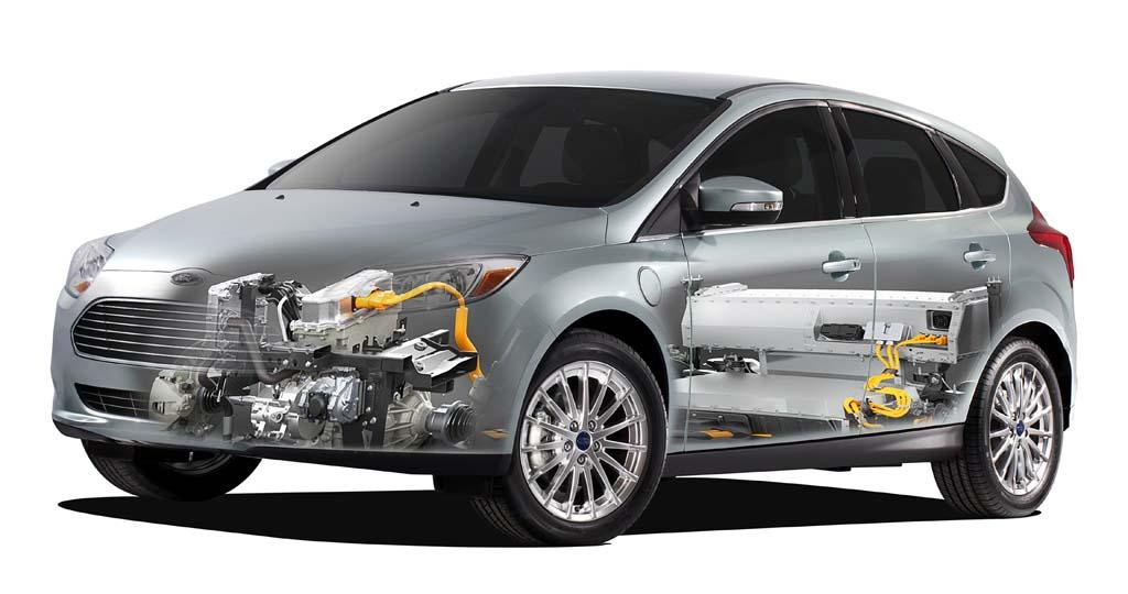 Sistema eléctrico del Ford Focus Electric