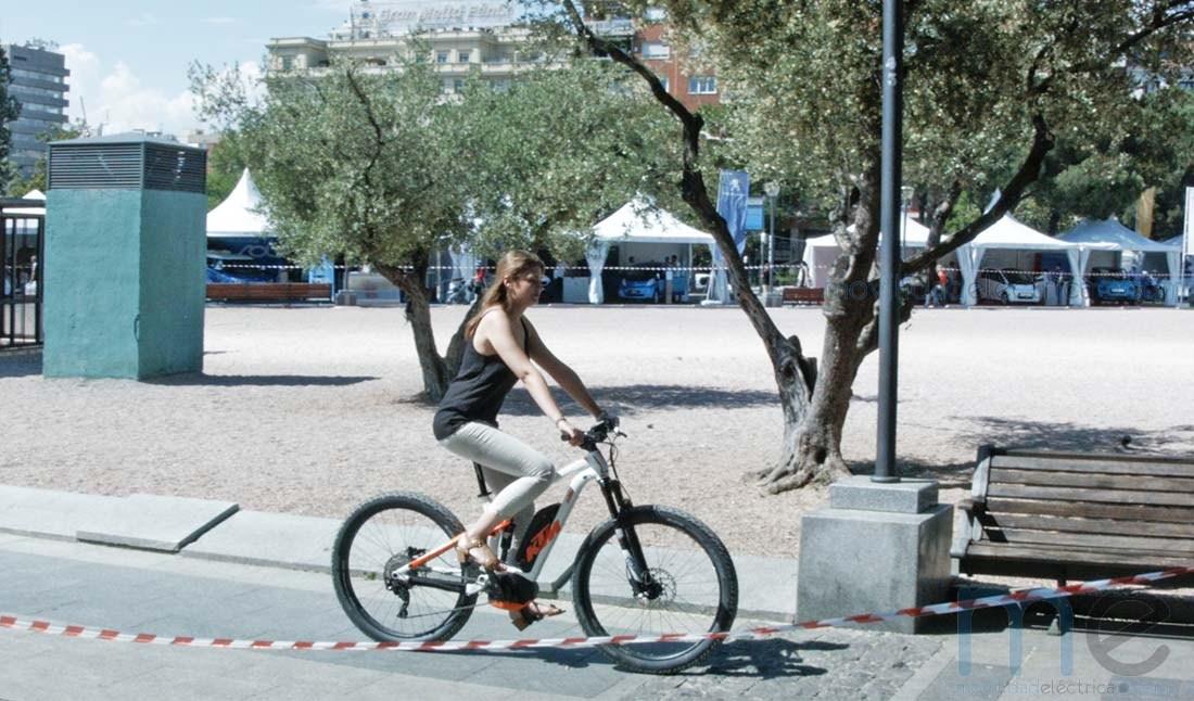 Circuito de pruebas de bicicletas eléctricas