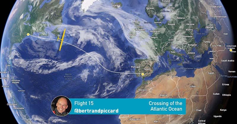 El vuelo del Solar Impulse 2 de Nueva York a Sevilla
