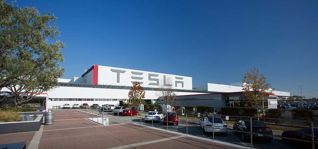 FábricaTesla Motors en Freemont, California