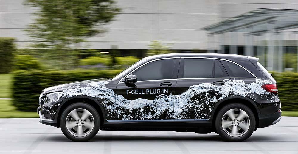 F-CELL plug-in, vehículo de pila de combustible basado en el GLC