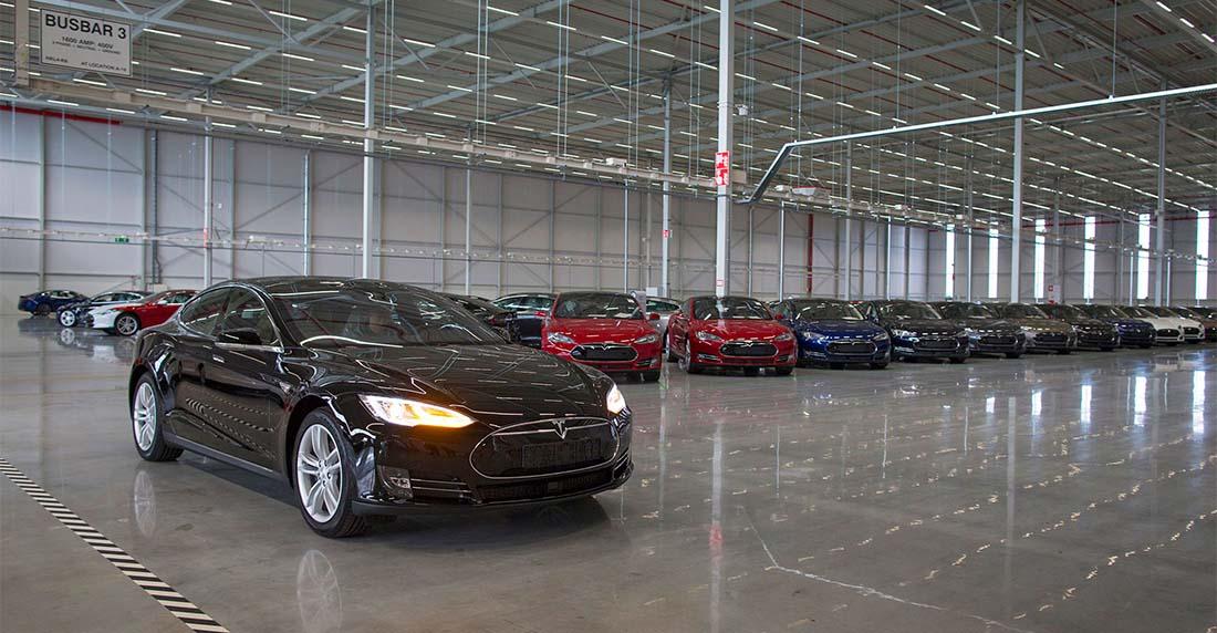 Factoría de montaje de Tesla en Tilburg, Holanda