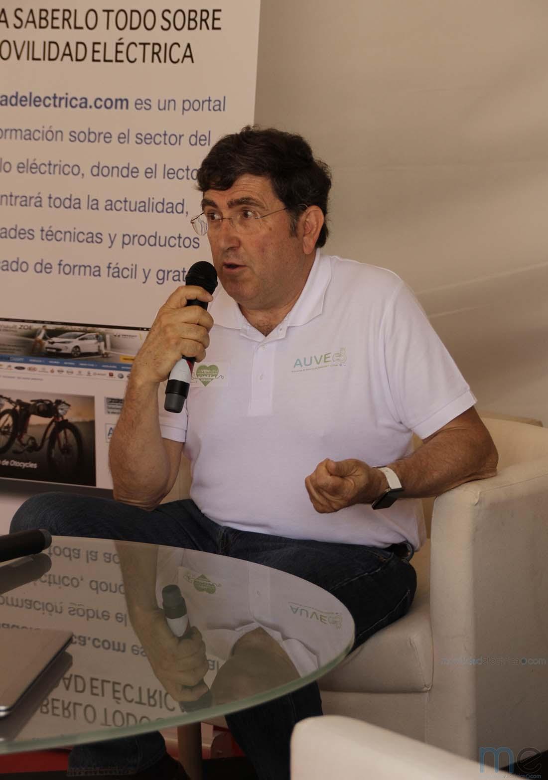 Fernando Pina Delegado en Madrid de AUVE