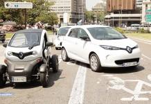 Vehículos para pruebas en VEM2016