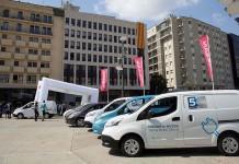 Zero Emission Tour 2016 en la Plaça de la Constitució de Girona