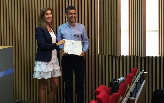 Entrega del premio por parte del proyecto europeo LCiP