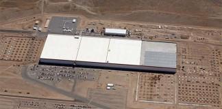 Gigafactoría de Telsa en el desierto de Nevada