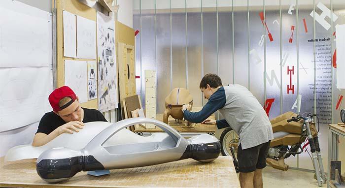 Proceso de fabricación de maquetas de SEAT