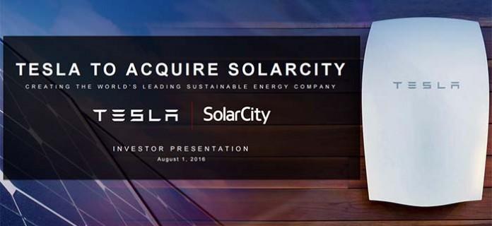 Oferta de Tesla sobre SolarCity