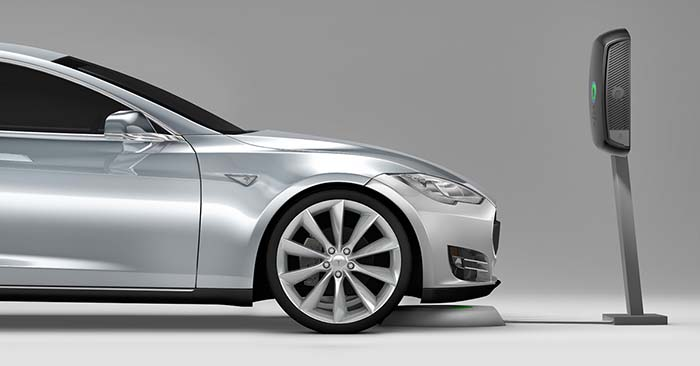Sistema de recarga inalámbrica del Model S