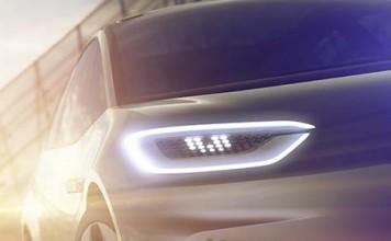 Imágenes del prototipo eléctrico de Volkswagen bajo el lema 'Think New'