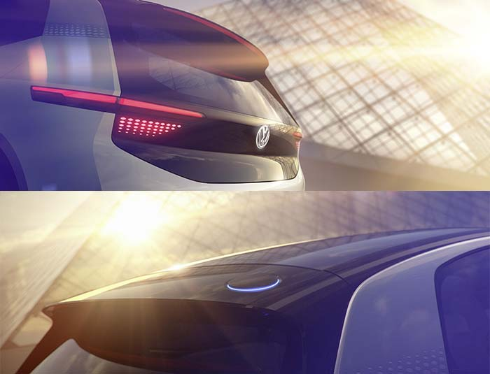 Imágenes del prototipo eléctrico de Volkswagen