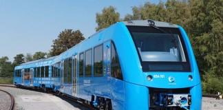 El primer tren con pila de hidrógeno de Almston