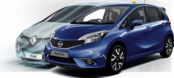 Nissan Note de autonomía extendida basdo en el Renault Eolab