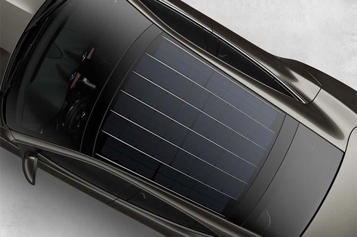 Nuevo techo fotovoltaico del karma Revero