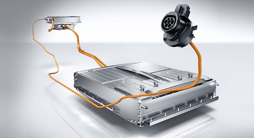 Ubicación de la batería y la electrónica del Mercedes Clase B 250e