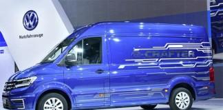 Volkswagen e-Crafter en la IAA de Hannover