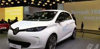 Éxito del Renault Zoe ZE 40 en el Salón de París