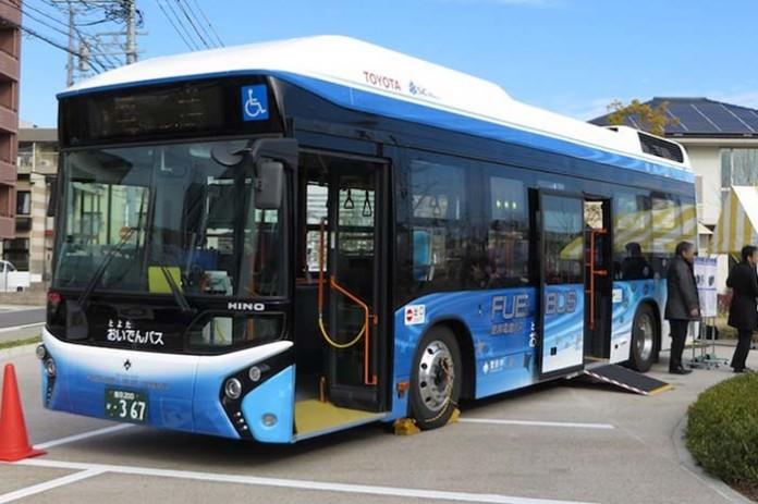 Autobuses de hidrógeno Toyota FC Bus