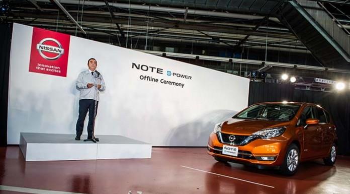 Carlos Ghosn presenta el Nissan Note e-Power
