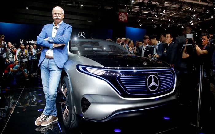 Dieter Zetsche CEO de Daimler asegura que Mercedes superará a Tesla en 2025
