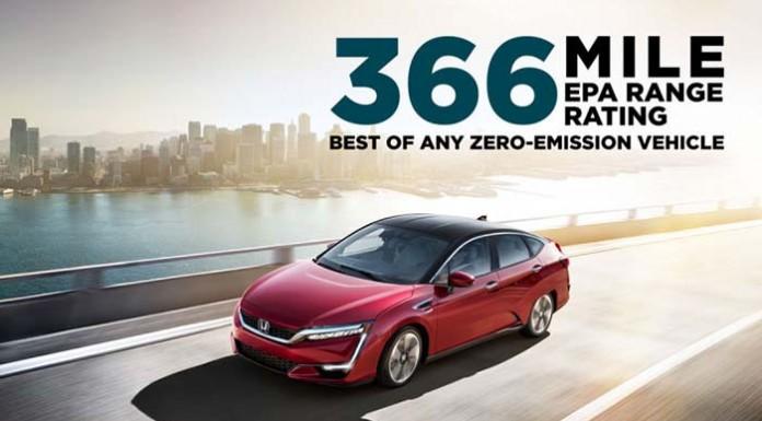 El Honda Clarity FCV homologa 589 kilómetros de autonomía