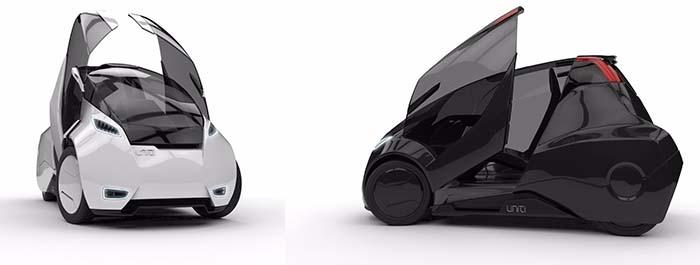 El coche eléctrico de Uniti homologado como cuadricilo