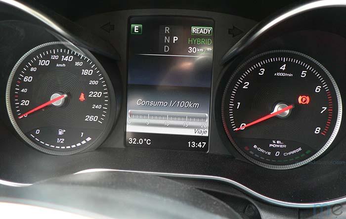 Mercedes-Benz Clase C 350e - Instrumentación