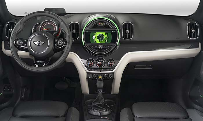 Mini Cooper Countryman All4-interior