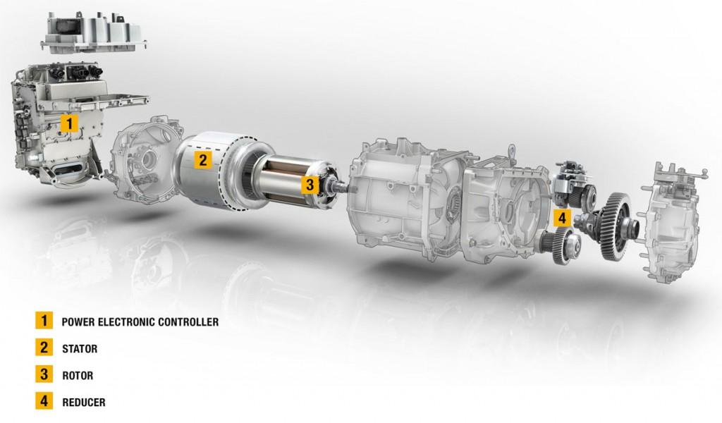 Sistema eléctrico del Renault Zoe. Renault adoptará el estándar CCS Combo 2