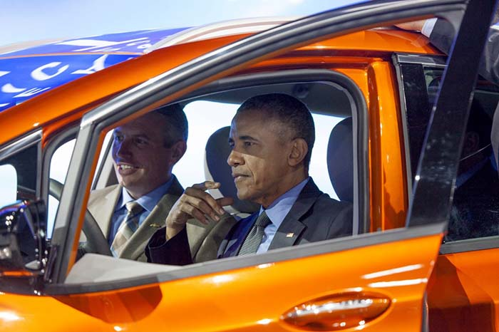 Al Administración Obama establecerá 48 corredores eléctricos en Estados Unidos