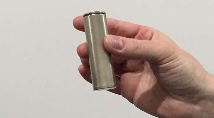 nuevas celdas para baterías de Panasonic