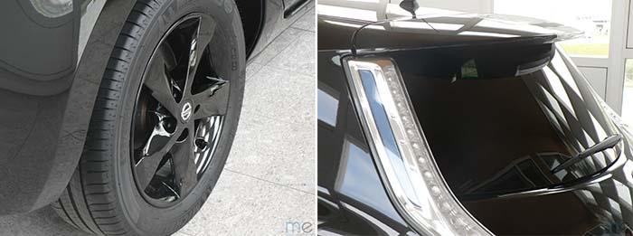 Detalles Nissan Leaf Black Edition