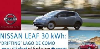 Drifting con el Nissan Leaf