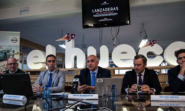 Nissan junto a_la entidad local Lanzaderas acerca el AVE a Soria