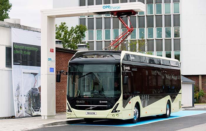 Primera estación OppCharge para carga ultra rápida de autobuses