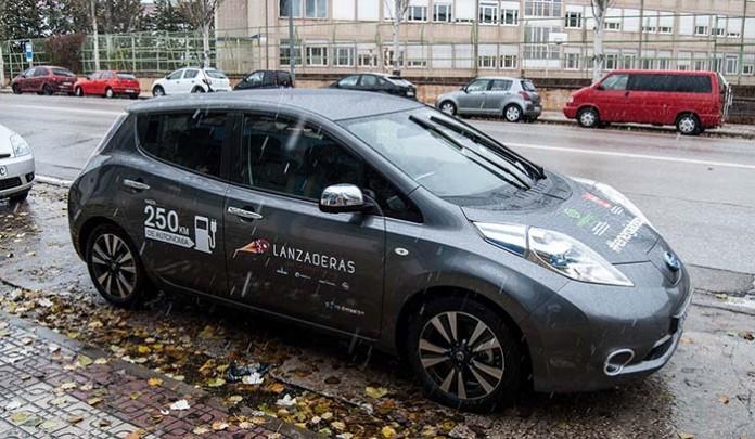 Si el AVE no llega a Soria, el Nissan Leaf sí