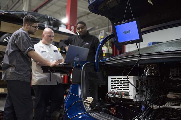 El cerebro de los vehículos autónomos de Ford