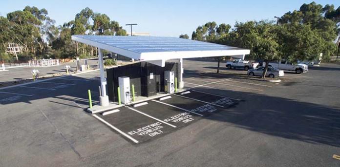 Primera estación de recarga rápida a 350 kW de potencia