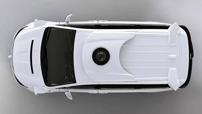Sensores montados en los 100 Chrysler Pacífica PHEV autónomos