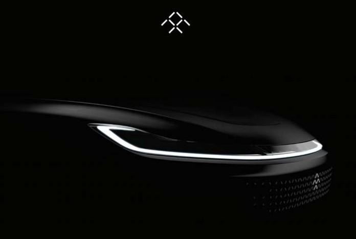 Faraday Future revela una primera imagen de su coche eléctrico