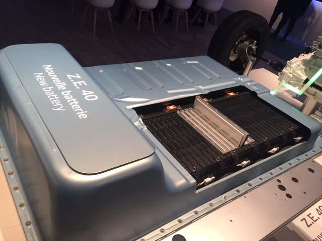 Batería de 41 kWh del Renault Zoe ZE 40