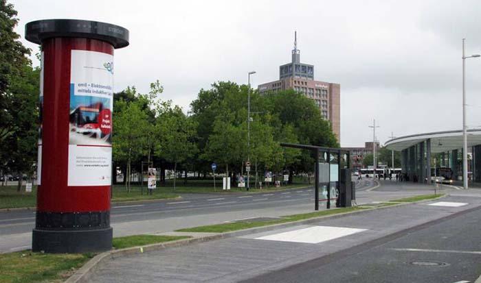 Estación de carga inductiva de Primove en Braunschweig Alemania