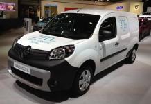 Nueva Renault Kangoo ZE presentada en el Salón de Bruselas