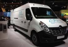 Nueva Renault Master ZE en el Salón del Automóvil de Bruselas