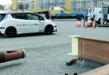 Pruebas del Nissan Leaf autónomo en Londres