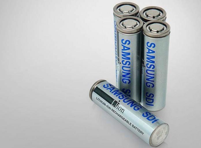 Samsung presenta sus nuevas celdas para baterías cilíndricas